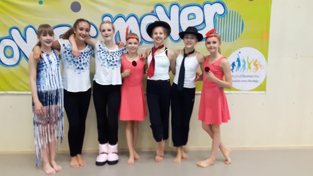 Etelä-Suomen Power Mover -tanssikilpailuissa huippumenestys