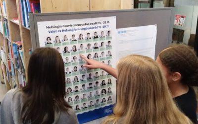 Äänestämällä parempi Helsinki nuorille