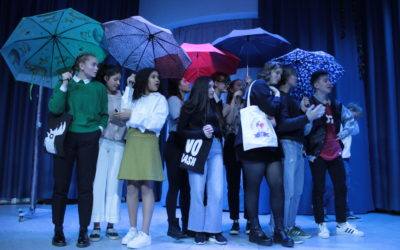 Environ 1100 spectateurs ont vu la comédie musicale Belle et la Bête – ihmisen luonto ! Un vrai succès!