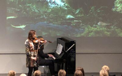Alakoulu korkkasi Campuksen auditorion Sibelius-konsertilla