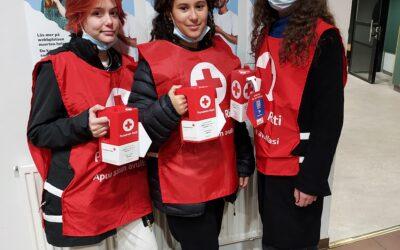 Les classes 8 et la Croix-Rouge
